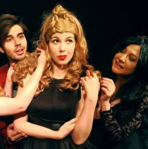 """FRIGID New York @ Horse Trade presents the 2017 """"FRIGID Festival"""" at The Kraine Theater, and Under St. Marks running Feb. 15-Mar. 5. (Pictured) Scene from a featured play, """"A Fifth Dimension: An Unauthorized Twilight Zone Parody"""" (Photo by Christ Weigandt)"""