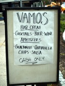 Vamos was one of the few businesses to reopen on First Avenue soon after the storm before electricity was restored to the area. (Photo by Maria Rocha-Buschel.)