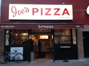 Joe's Pizza on East 14th Street