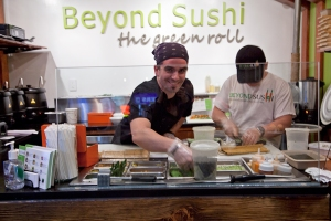 Chef Guy Vaknin at Beyond Sushi