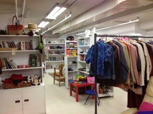 The St. George's Thrift Shop recently reopened after a cleanup project and repainting.