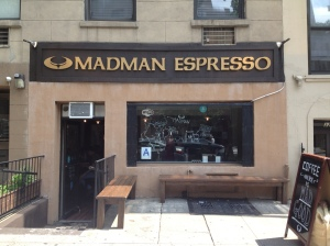 Madman Espresso on East 14th Street