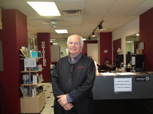 Rick Riggi of Haironymus Salon