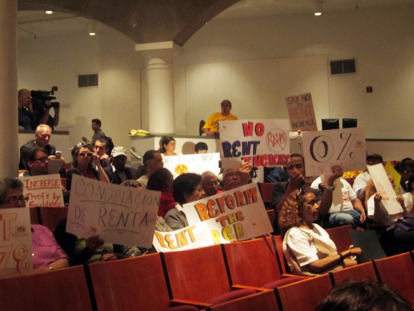 Pending legislation aims to reform the Rent Guidelines Board. Photo by Maria Rocha-Buschel