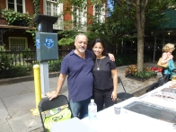 Alan Krevis, GNA president, with Ellaine Day, GNA board member