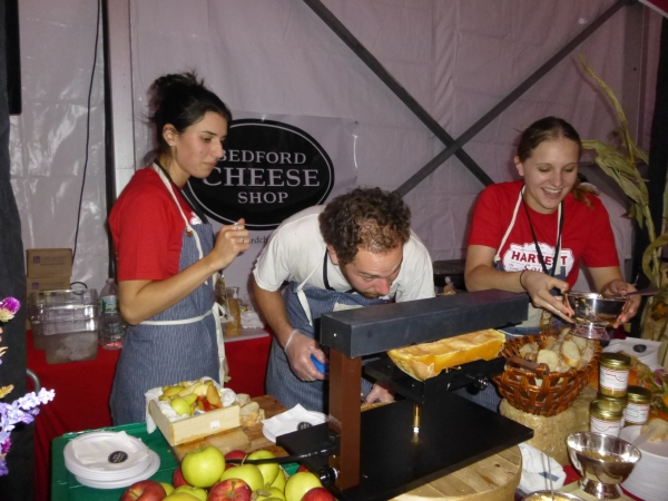 Bedford Cheese will be one of the participating businesses at Taste of Gramercy. (Pictured) The store also participated in Tuesday's Harvest in the Square event in Union Square. Photo by Sabina Mollot