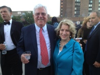 Waterside owner Richard Ravitch with Tenants Association President Janet Handal (Photo by Sabina Mollot)