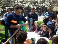 Kids in awe over balloon creations