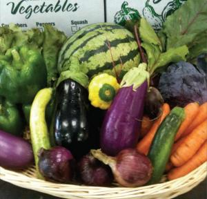 A few of the offerings through the volunteer-run CSA at the 14th Street Y