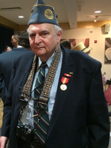 Honoree Jerry Alperstein of Stuyvesant Town, Vietnam vet