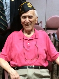 Seymour Beder, WWII vet from Peter Cooper Village