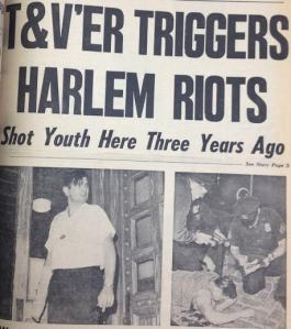 Front page of the July 23, 1964 issue of T&V