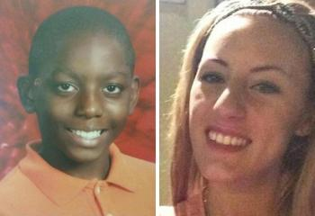 Missing persons Shaun Tanner (L) and Brianne