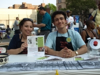 Leah Casul and Richard Quilico at the table for Cauz for Pawz