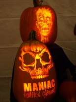Maniac Pumpkin Carvers at Harvest in the Square