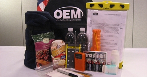 Go bag (Image courtesy of the NYC Office of Emergency Management)