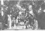 Nativity scene in Stuy Town in 1983