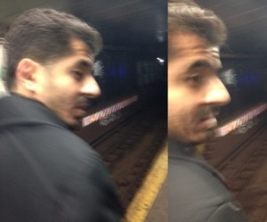 Photos of the alleged groper