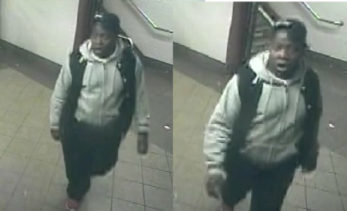 Surveillance photos of box-sutter attack suspect