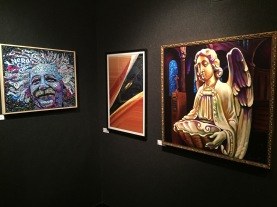 A few of the paintings at the NAC