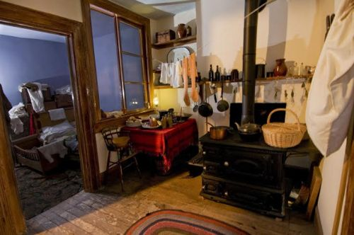 "The Lower East Side Tenement Museum presents the tour, ""Irish Outsiders,"" in the restored home of an Irish-Catholic immigrant family. (Photo courtesy of Tenement Museum)"