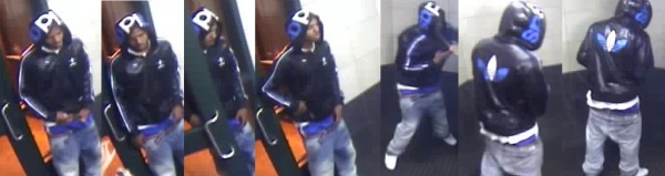 Surveillance photos of suspect