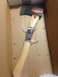 A weapon allegedly used by Trevial Terry (Photo courtesy of NYPD)