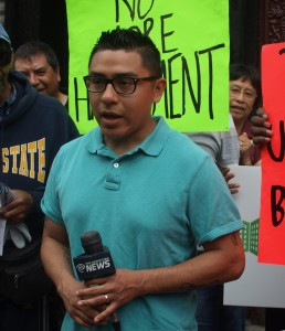 Cesar Bello, a longtime tenant, says he's been offered a buyout multiple times.