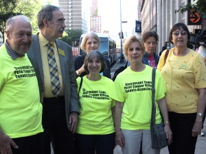 ST-PCV Tenants Association members attended the vote, including new president Susan Steinberg.