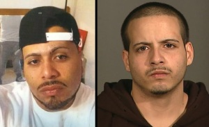 Suspects Isaias Rivera (left) and Joey Cruz