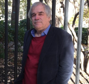 Author and journalist Dick Belsky, outside of Gramercy Park (Photo by Sabina Mollot)