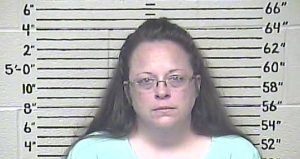 KENTUCKY COUNTY CLERK KIM DAVIS (Carter County Detention Center via AP)