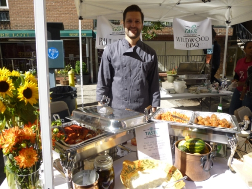 Paul & Jimmy's, pictured at Taste of Gramercy Neighborhood in 2013, is one of 20 participating restaurants this year. (Photo by Sabina Mollot)