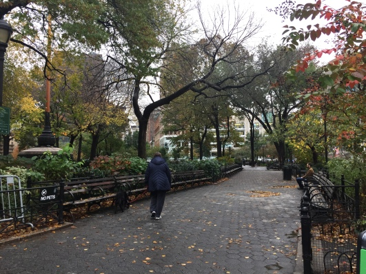 Union Square Park on a recent afternoon (Photo by Maria Rocha-Buschel)