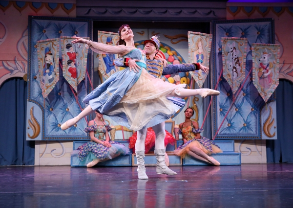 "The New York Theatre Ballet will present a performance of ""The Nutcracker"" this weekend. (Photo by Richard Termine)"