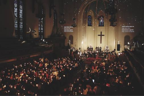 Last year's service and concert (Photo courtesy of Calvary/St. George's)