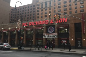 The P.C. Richard & Son store on East 14th Street