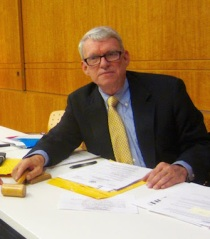 New Community Board 6 Chair Rick Eggers (Photo courtesy of CB6)