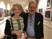 Artist Alice Mayo with Gramercy Neighborhood Associates President Alan Krevis
