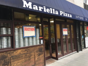 Mariella Pizza closed due to a gas issue in January, then never reopened. (Photo by Sabina Mollot)