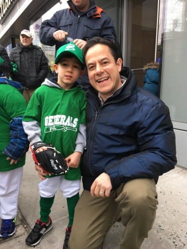 Councilmember Dan Garodnick with his son Asher