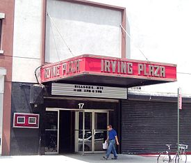 Irving_Plaza_entrance