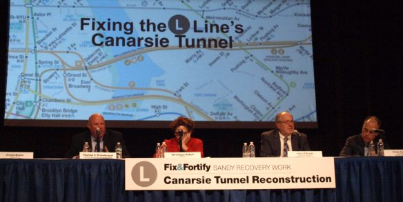 MTA explores options at meeting on L train repairs and