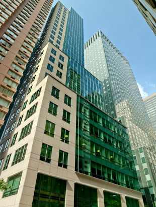 NYU Langone will occupy all of 222 East 41st Street in addition to its current First Avenue facility. (Photo courtesy of Columbia Property Trust)