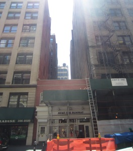 One of the buildings up for landmarking debate, 16 West 18th Street (Photo by Maria Rocha-Buschel)
