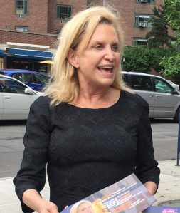Congresswoman Carolyn Maloney, pictured in Stuyvesant Town in June Photo by Sabina Mollot)