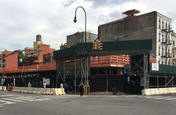 Target has signed a lease for a space at what is now a construction site across from Stuyvesant Town. Photo by Sabina Mollot)