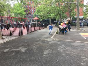 Augustus St. Gaudens Playground (Photo by Alan Krevis)