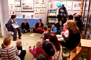 Story time is held on weekends at Books of Wonder. (Photo courtesy of Books of Wonder)