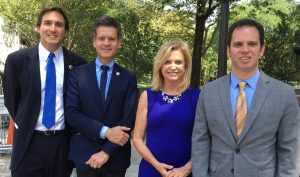 Council Member Ben Kallos, State Senator Brad Hoylman, Congresswoman Carolyn Maloney and Assembly Member Dan Quart